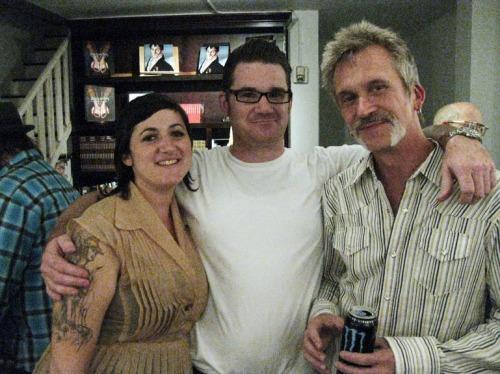 Libby, Justin and Van Arno