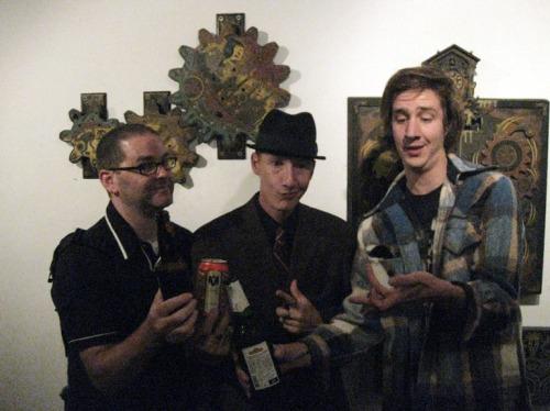 Steve MacDonald, Paul Chatem and Lafe Eaves