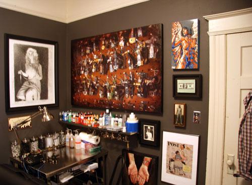 Shawn Barber studio visit