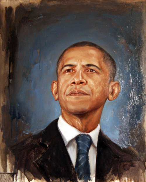 Shawn Barber Obama Portrait