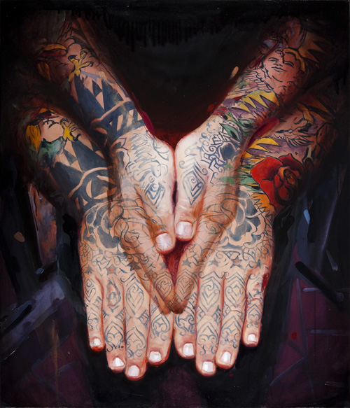 Scott Sylvia Hands by Shawn Barber