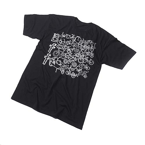 Huf BFF shirt by Steve MacDonald
